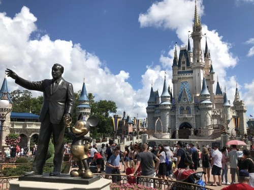 Disney World sets phased re-opening dates