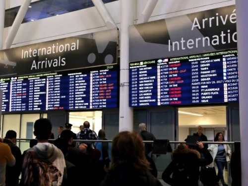 """Meeters & greeters"" not allowed: YYZ restricted to travellers only starting June 1st"