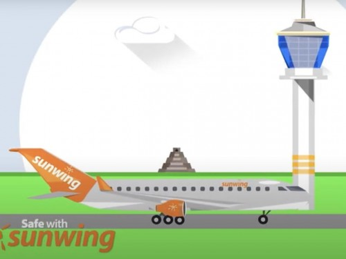 VIDEO: Safe With Sunwing highlights company's new health & safety protocols