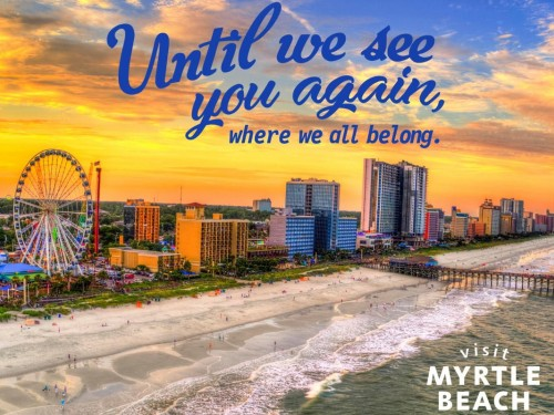 VIDEO: The beach is back! Myrtle Beach reopens with health & safety in mind