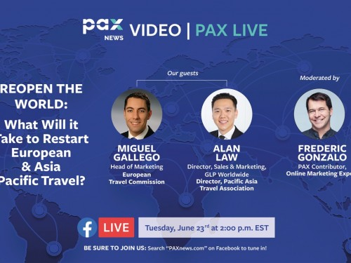 What will it take to restart European & Asia Pacific travel? FB Live today: June 23, 2 p.m. (EST)