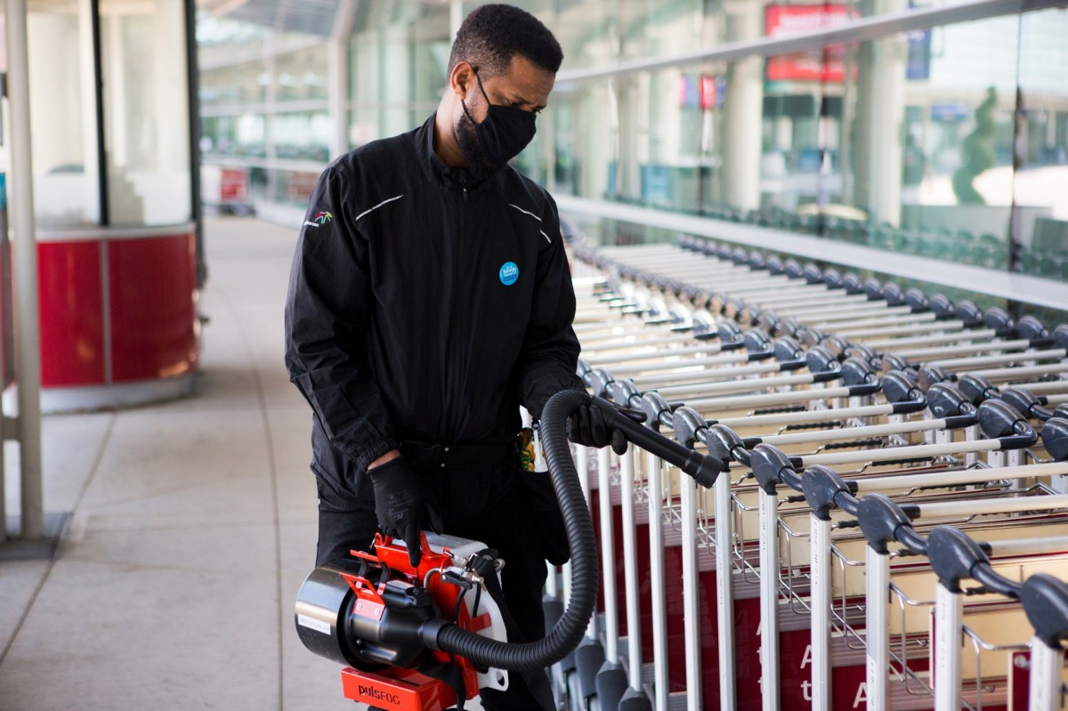 GTAA launches 'Healthy Airport' commitment & partners with BlueDot