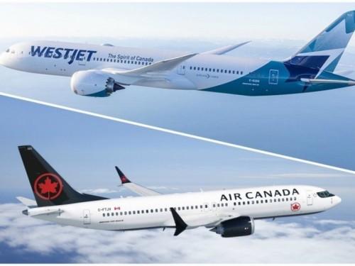 WestJet, Air Canada ending seat distancing policies
