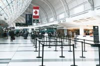 Health officials will now be stationed at the Canada-U.S. border