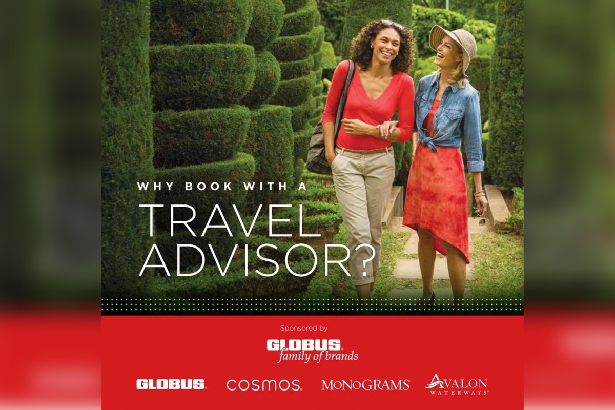 Globus adds new e-brochure to encourage booking with a travel advisor