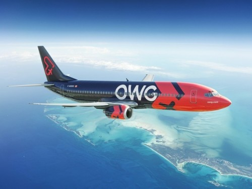 Hola Sun partners with Quebec's newest airline, OWG