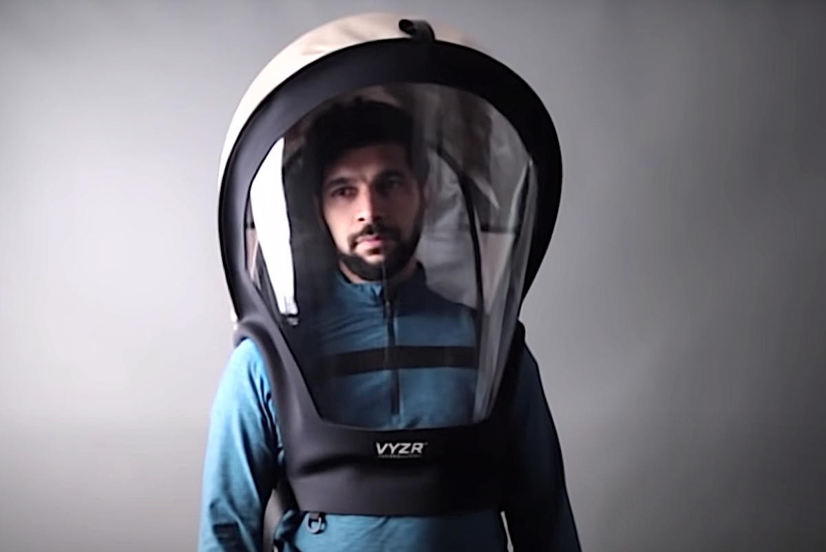 VIDEO: Toronto company invents hazmat suit for air travel