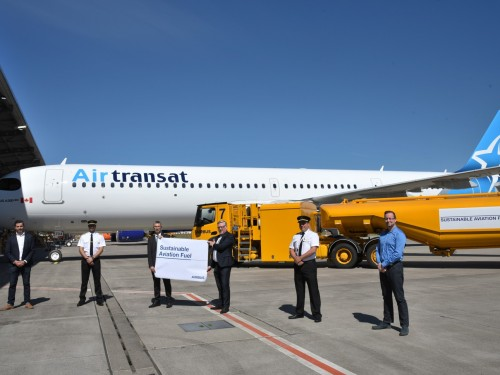 Air Transat takes delivery of its first two sustainable jets