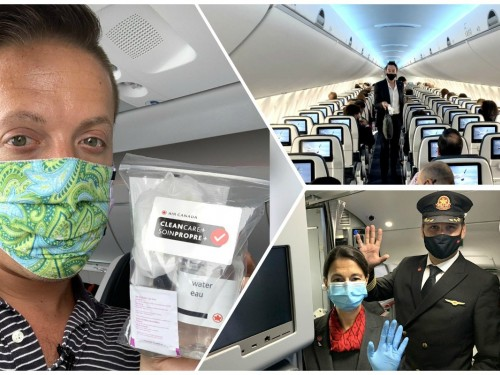 VIDEO: Flying with Air Canada during the COVID-19 pandemic