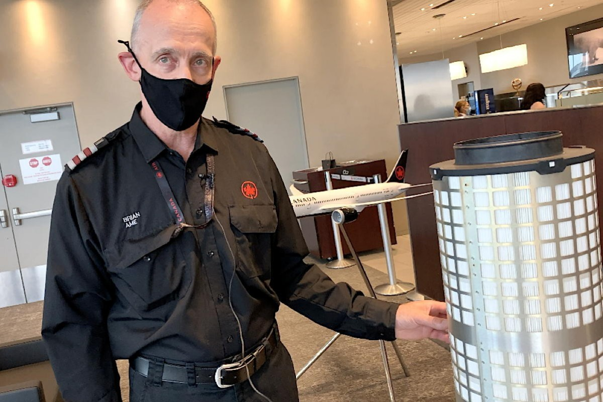 VIDEO: How do HEPA filters work on airplanes? An Air Canada engineer explains.