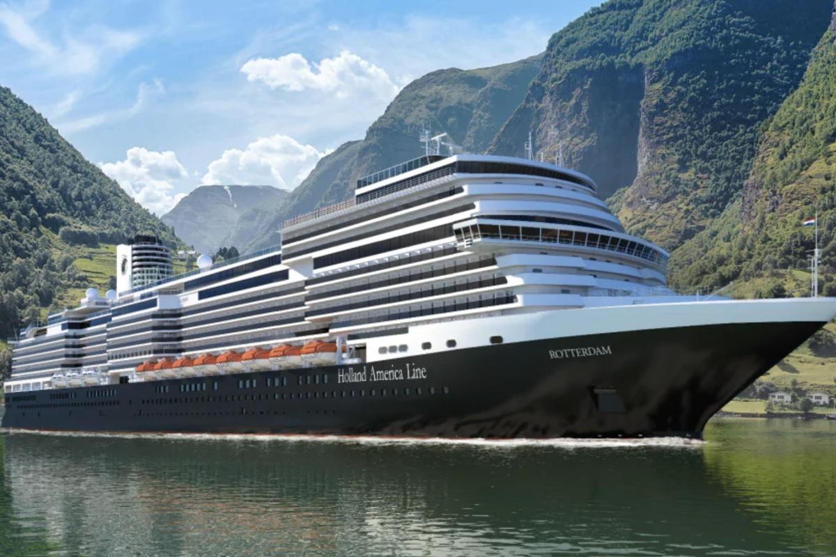 HAL renames newbuild to Rotterdam, designates it the new flagship