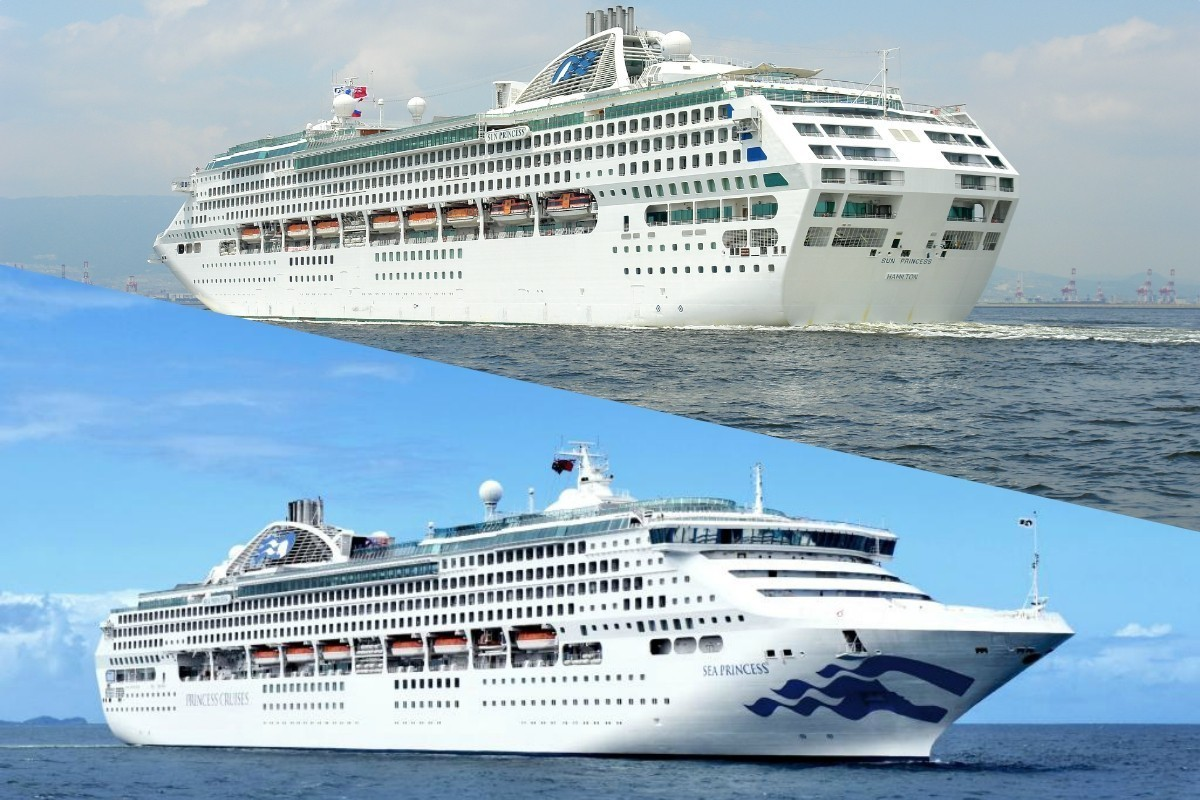 Princess has sold two ships from its fleet