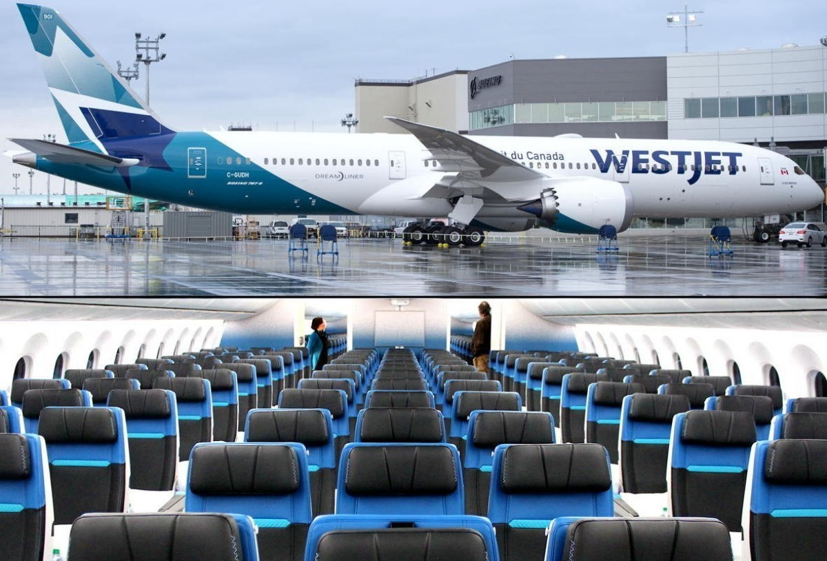 You can now fly on WestJet's 787 Dreamliner between YVR & YYZ