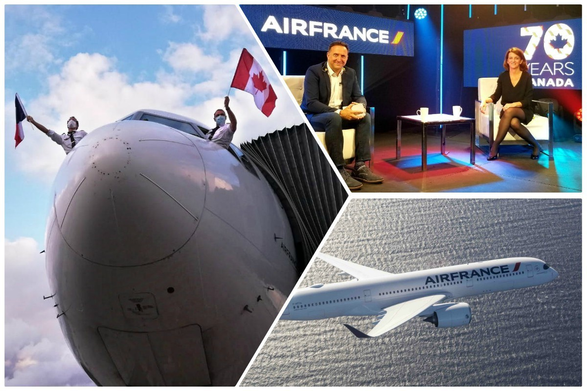 VIDEO: Air France celebrates 70 years in Canada at virtual event