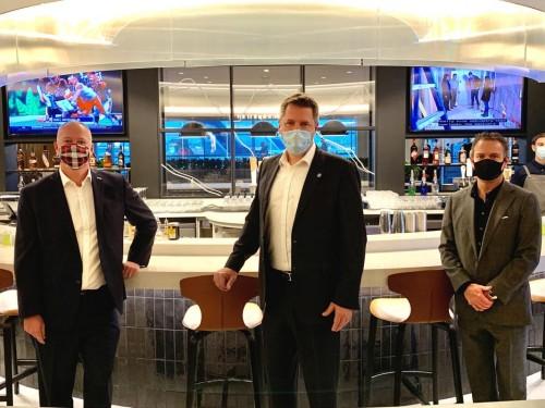 On location: PAX tours WestJet's new premium Elevation Lounge