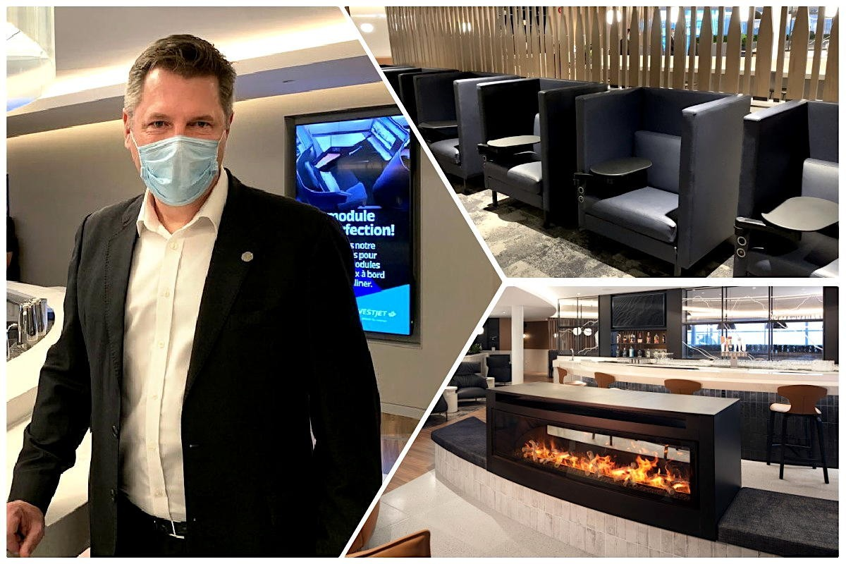 "VIDEO: ""A big investment for us"": Step into WestJet's first-ever airport lounge at YYC"