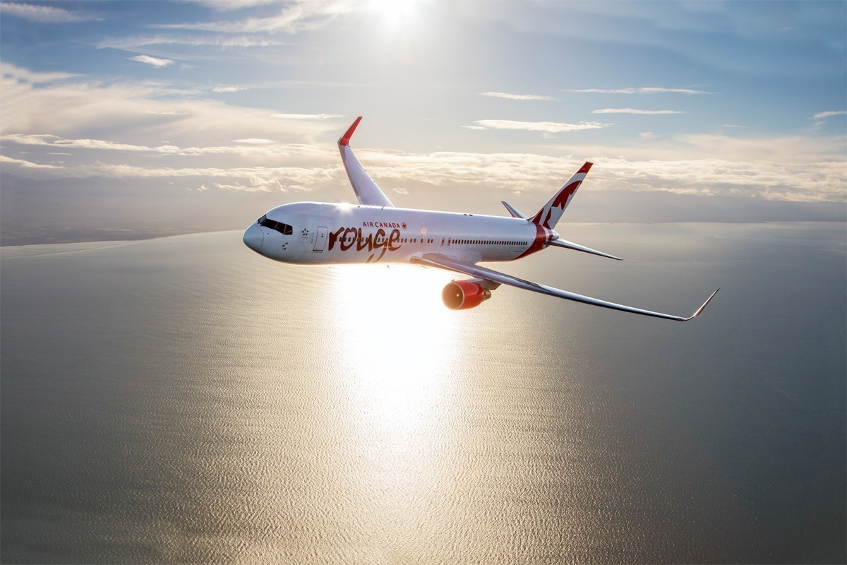 Air Canada Rouge returns to the skies
