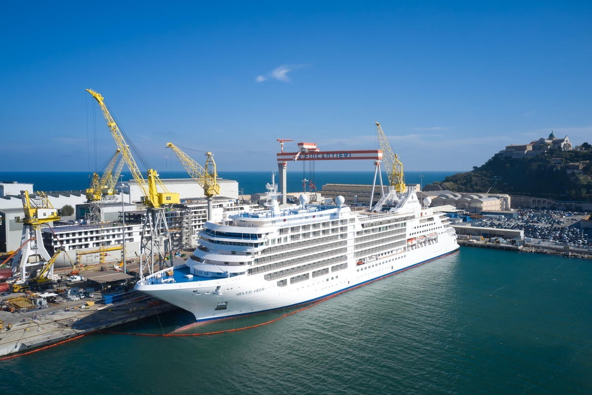 VIDEO: Silversea takes delivery of new Silver Moon ship