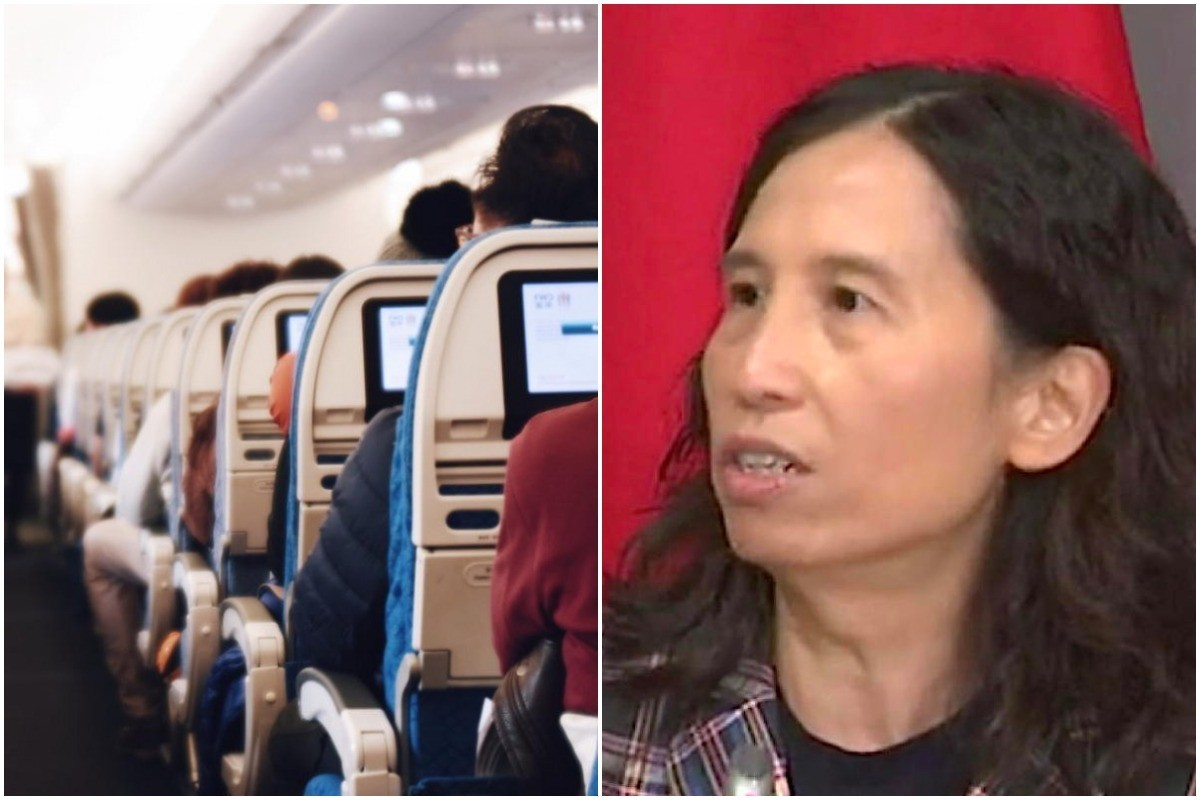 """COVID-19 transmission on airplanes """"extremely rare,"""" says Dr. Tam"""