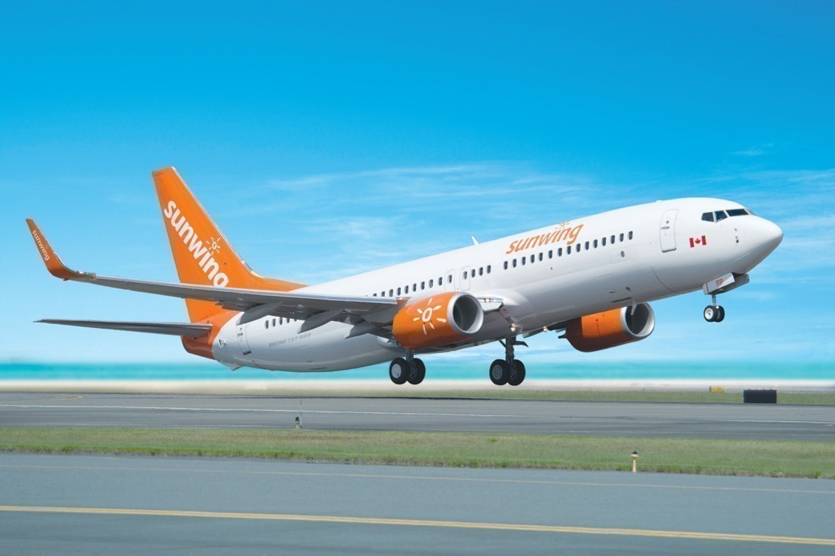 Sunwing announces winter flight schedule from Vancouver, Calgary & Edmonton