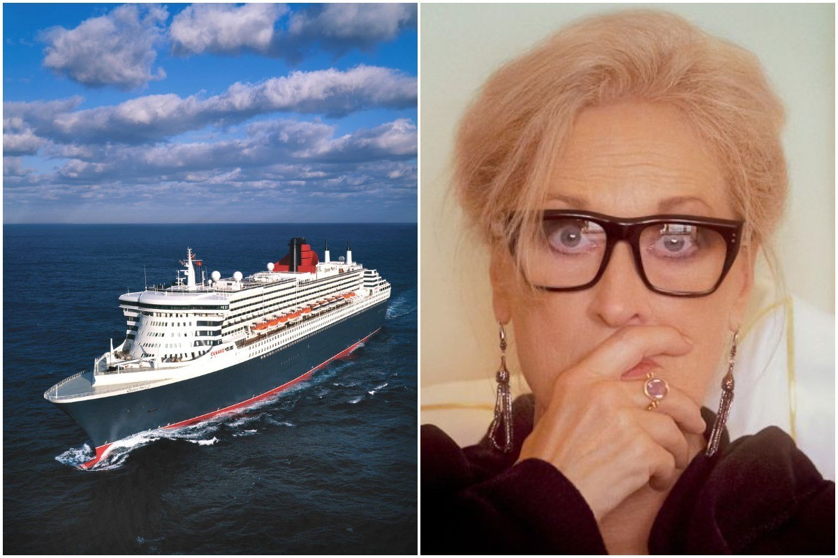 Cunard's Queen Mary 2 takes centre stage in new film starring Meryl Streep