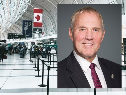"""COVID-19 cases linked to int'l travel account for """"1.8 per cent of all cases"""" in Canada: Blair"""