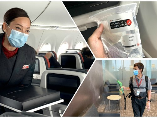 Air Canada receives APEX's Diamond certification for CleanCare+ safety program