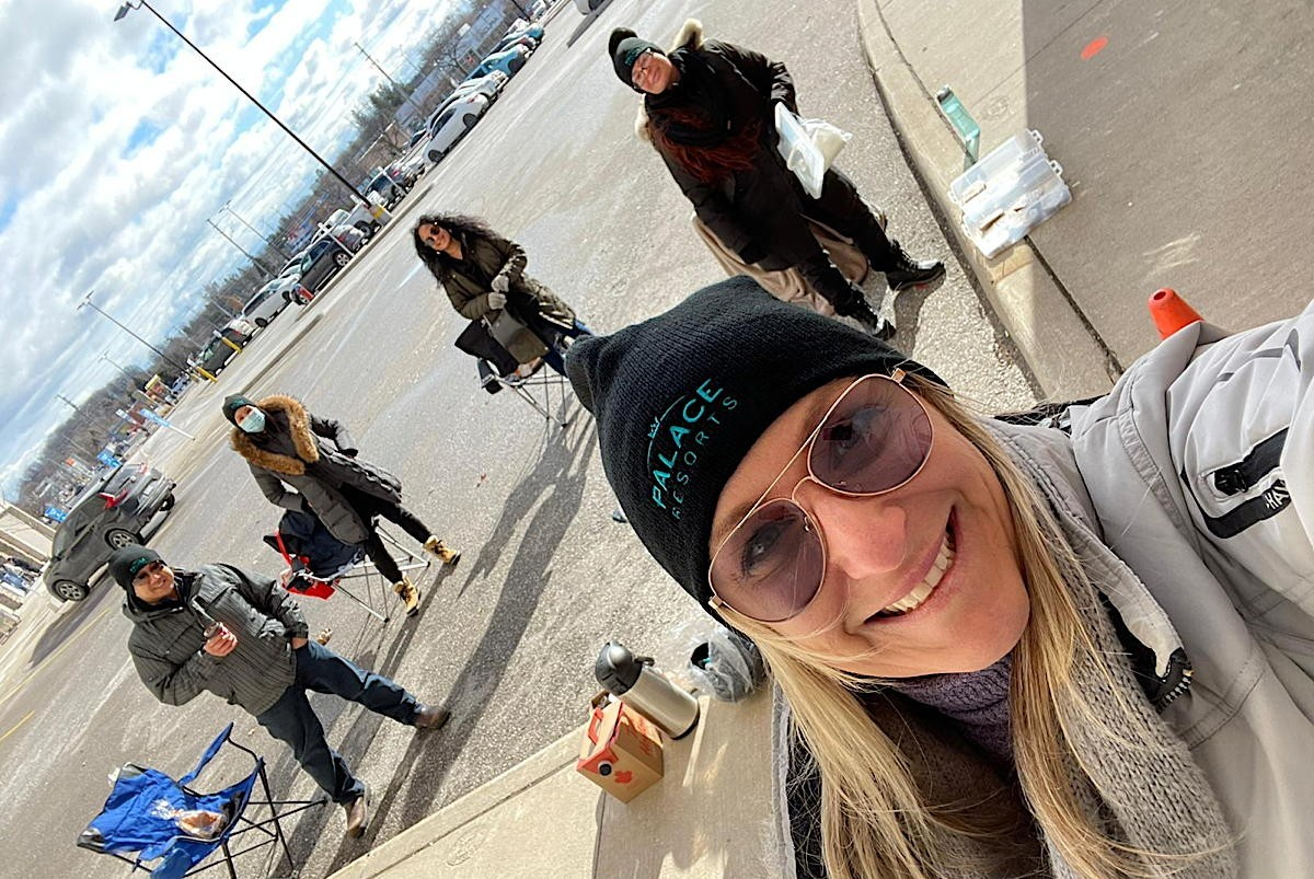 On Location: Palace's parking lot parties for Ontario agents are back for winter