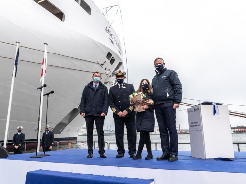 MSC Cruises takes delivery of MSC Virtuosa
