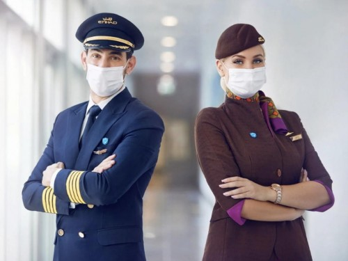"Etihad becomes first airline with ""100% of crew on board vaccinated"""