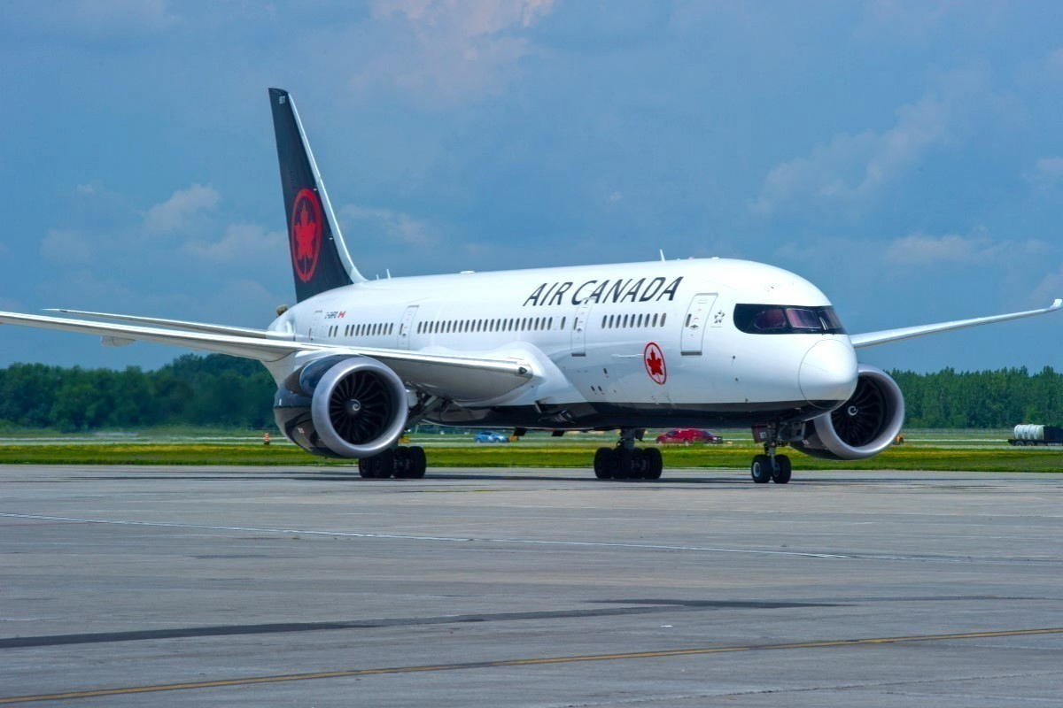 Air Canada commits to net zero emissions by 2050