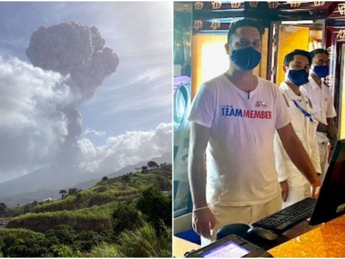 Cruise lines refute claim that only vaccinated people were allowed to evacuate St. Vincent