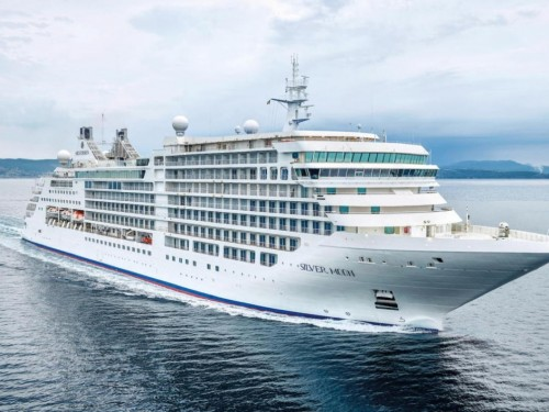 Silversea opens sales for Silver Moon voyages departing from Greece