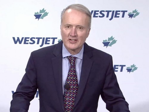 "Ottawa's aid package for Air Canada ""bittersweet,"" says WestJet CEO Ed Sims"