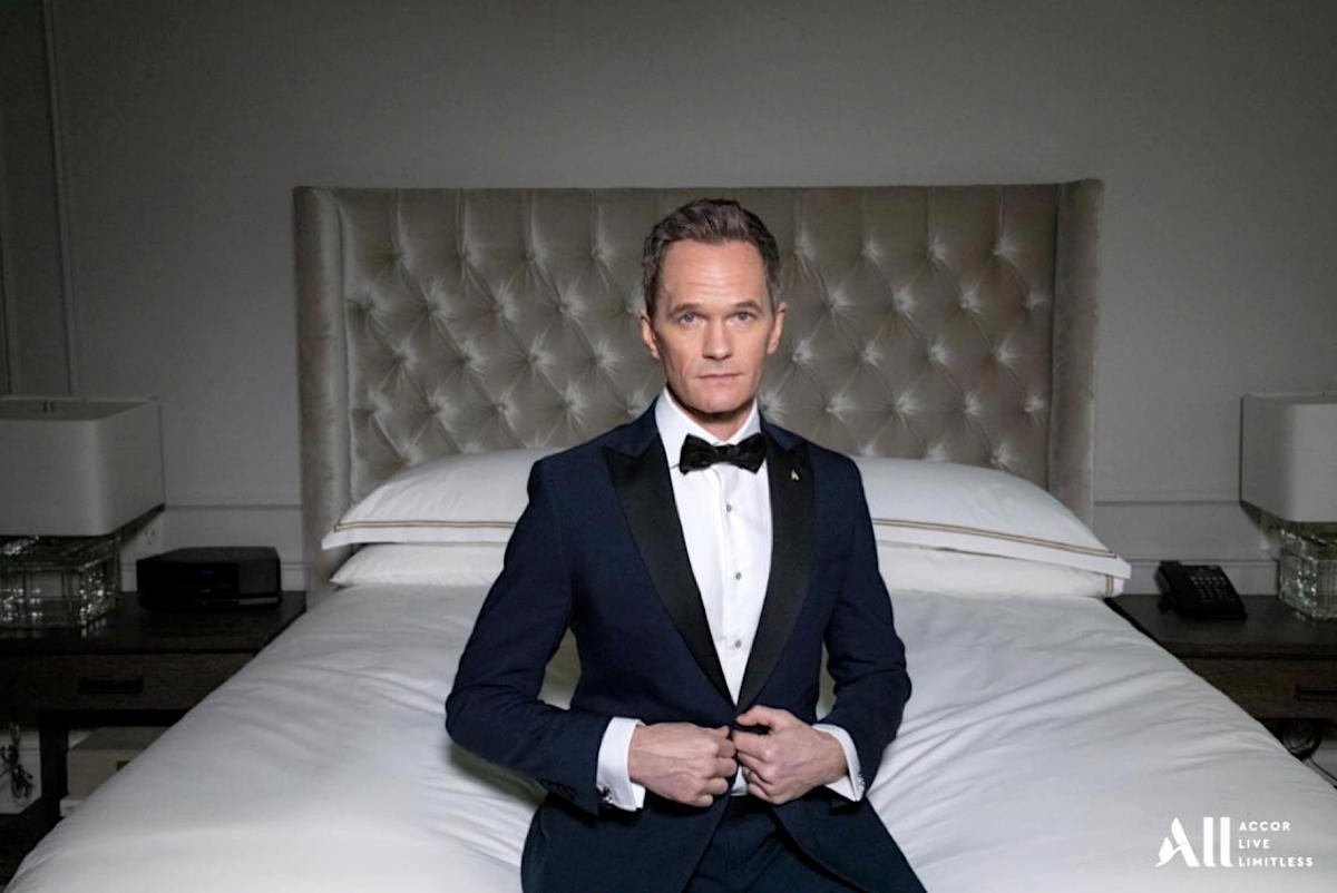 """Neil Patrick Harris teaches Accor guests how to be a """"real person"""" again through travel"""