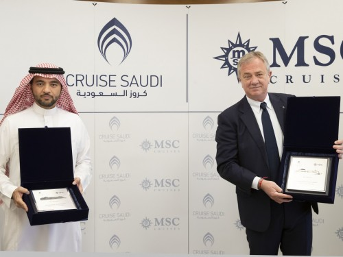 MSC Cruises will sail into Saudi Arabian waters for winter 2021/2022 season