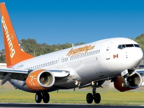 Sunwing announces winter flight schedule for Atlantic Canada