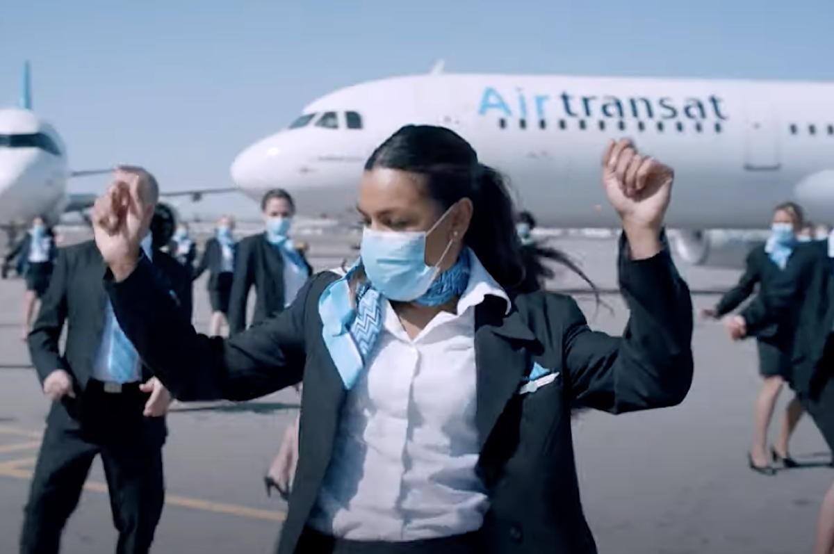 VIDEO: Watch Air Transat nail the Jerusalema dance challenge