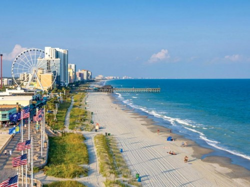 "Myrtle Beach rebrands as ""The Beach"" to drive tourism recovery"