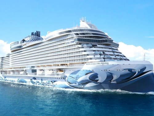 "NCL names new ship ""Prima;"" wide inaugural planned for 2022"