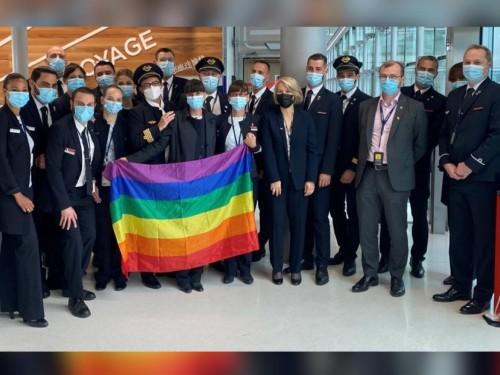 #IDAHOTB: Air France celebrates diversity with LGBTQ-crewed flights to SFO, ATH