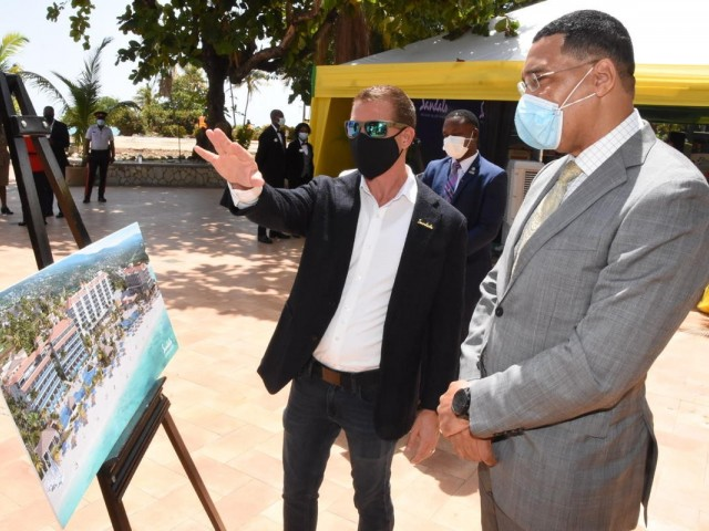 PHOTOS: Sandals unveils plans for three new resorts in Jamaica