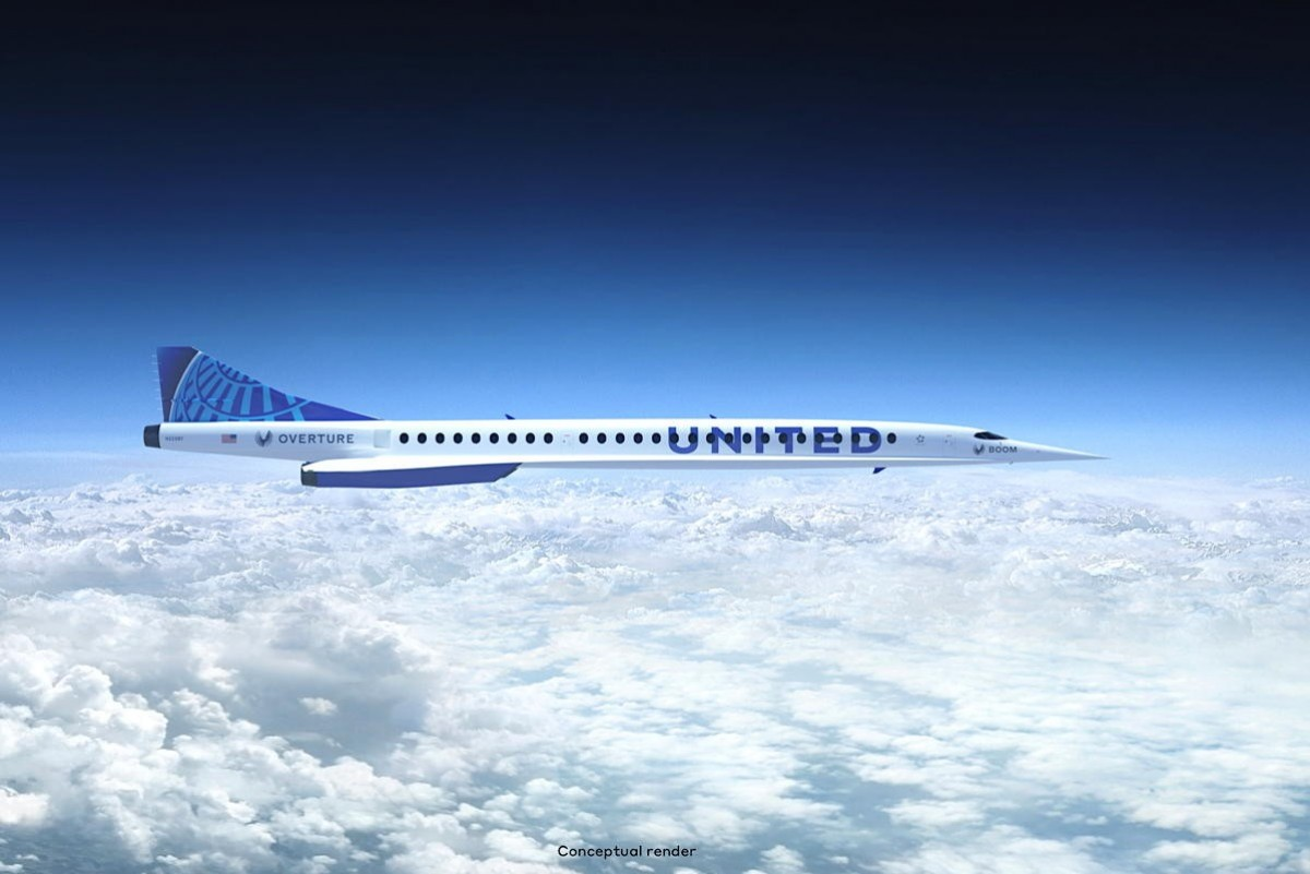 United orders 15 supersonic jets to cut travel time in half – one day
