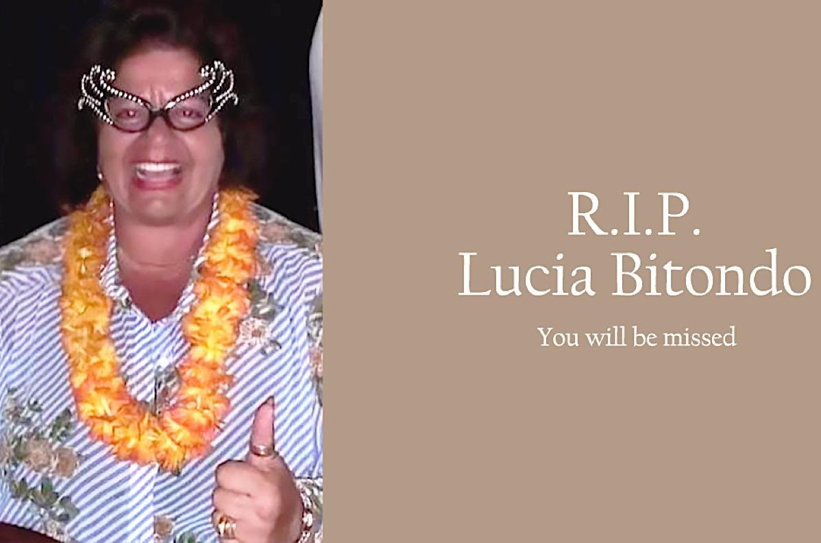 """She was such a bright light"": Remembering Lucia Bitondo; Cruise comebacks; AC execs will return bonuses"