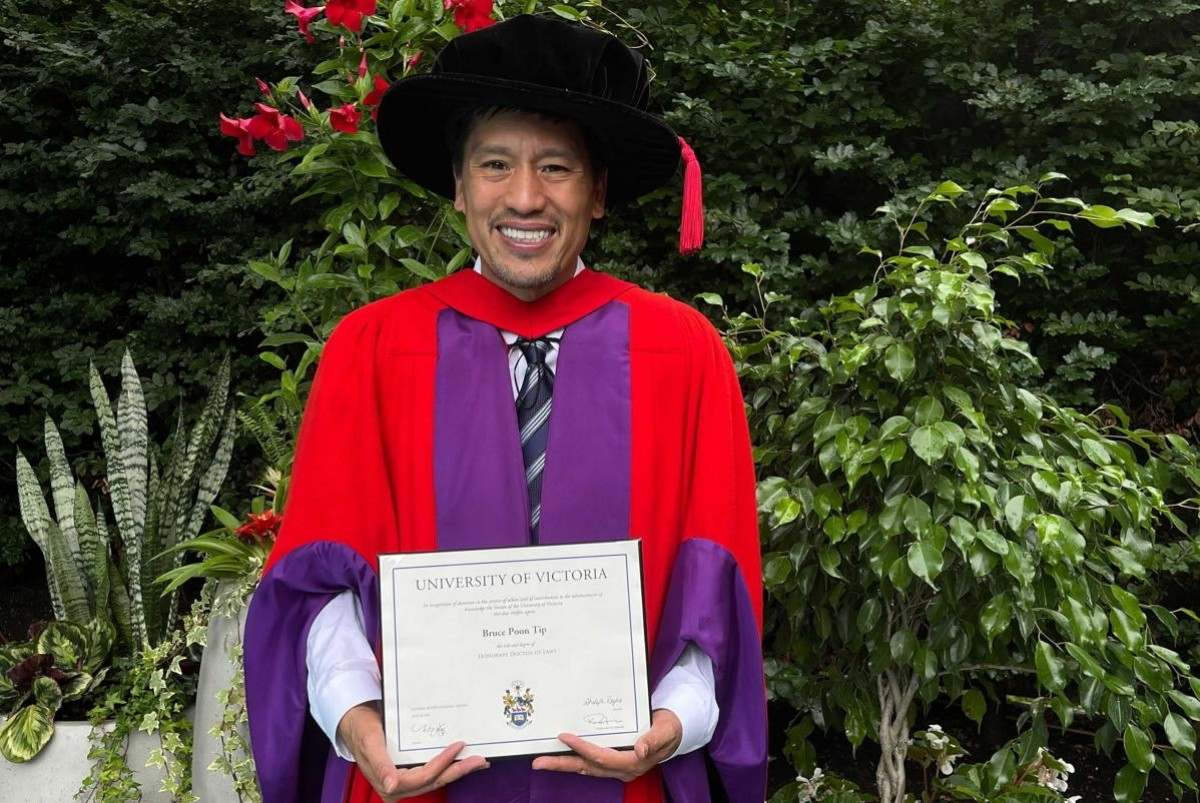 G Adventures' Bruce Poon Tip awarded honorary doctorate