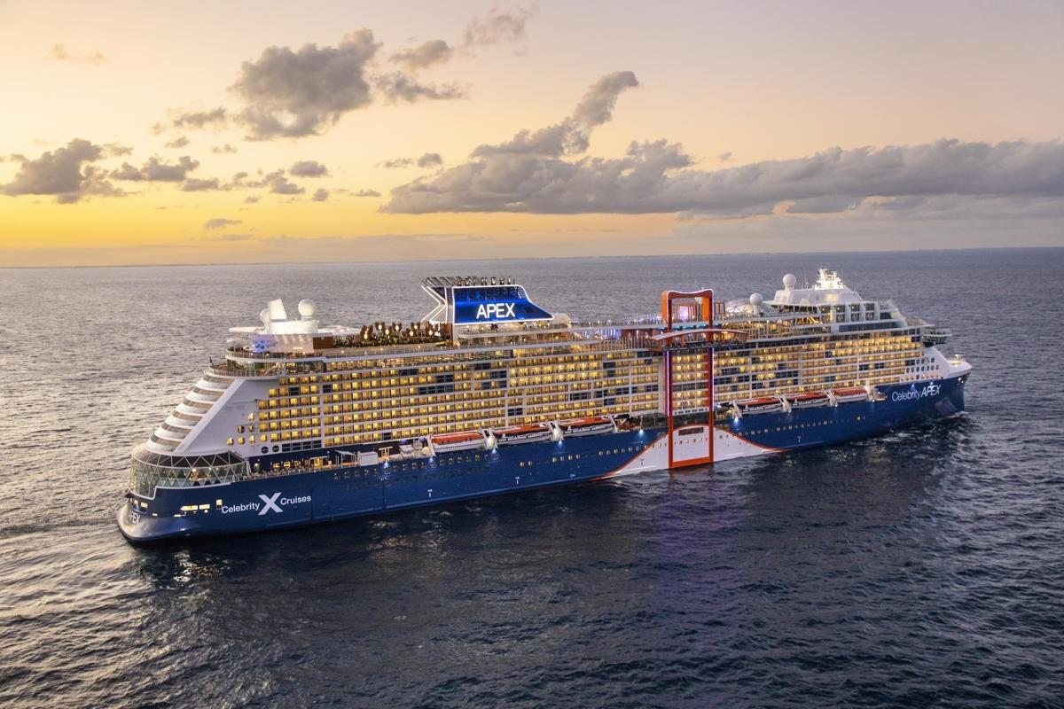 Excitement & awe: Celebrity Apex begins maiden voyage in the Aegean