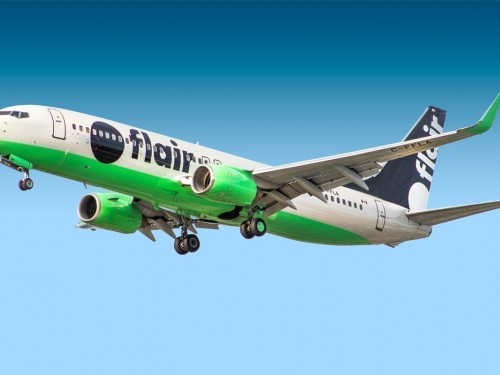 Flair begins ultra-low-cost service in New Brunswick