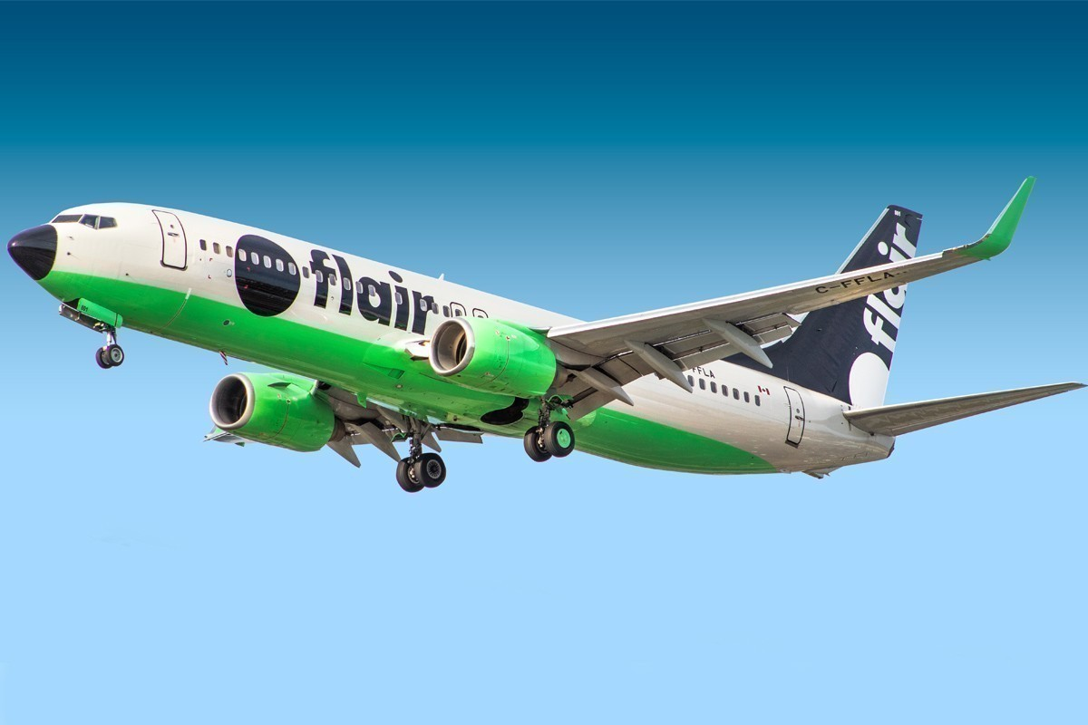 Flair Airlines will fly to 6 U.S. destinations starting this October