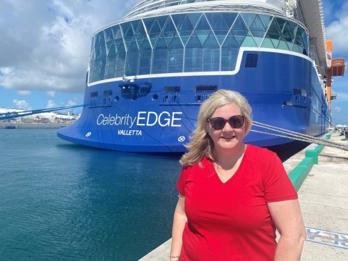 Cruise CEO hits the High Seas on the Celebrity Edge