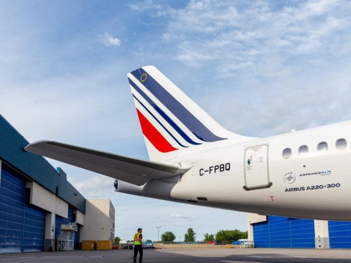 Air France prepares for arrival of Airbus A220
